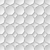 Abstract 3D Paper Graphics. Abstract 3D Paper background of heptagon . Vector Stock Image