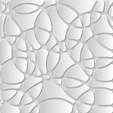 Abstract 3D Paper Graphics. Abstract 3D Paper background. Vector Royalty Free Stock Images