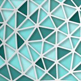 Abstract 3D Paper Graphics. Abstract 3D Paper blue background. Vector Royalty Free Stock Photography