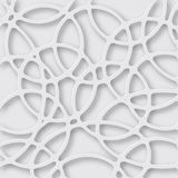 Abstract 3D Paper Graphics. Abstract 3D Paper white background. Vector illustration Stock Image