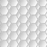 Abstract 3D Paper Graphics. Abstract 3D Paper background of hexagons. Vector Stock Photos