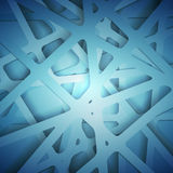 Abstract 3D Paper Graphics. Vector illustration for your business presentations. Stock Images