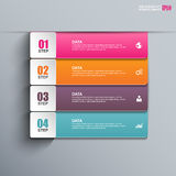 Abstract 3D paper Infographic. EPS10 Stock Photography