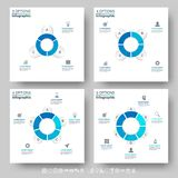 Abstract 3D Paper Infographic vector illustration