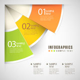 Abstract 3d paper infographics. Vector abstract 3d paper infographics stock illustration