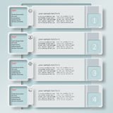 Abstract 3D Paper Infographics8 Stock Photos