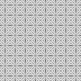 Abstract 3d pattern with gray and white. Geometric abstract seamless gray and white pattern royalty free illustration