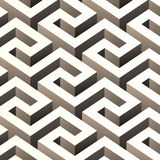 Abstract 3D pattern. Illustration Royalty Free Stock Photos