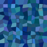Abstract 3d polygonal background from rectangles. Blue abstract 3d polygonal background from rectangles Royalty Free Stock Photography