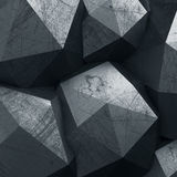Abstract 3d polygonal background Stock Photo