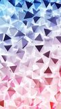 Abstract 3D pyramids. Illustration Abstract background. Abstract 3D pyramids. Rendered illustration. Abstract background Stock Image
