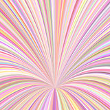 Abstract 3d ray background - vector graphic from swirling rays. In pink and colorful tones Royalty Free Stock Photo