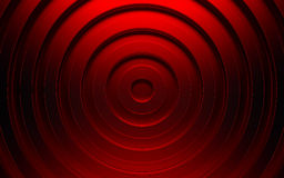 Abstract 3d red geometric background. Red texture with shadow. 3D render Royalty Free Stock Photography