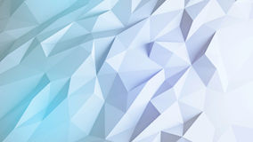 Abstract 3d render background. Colorful triangular design element background royalty free illustration