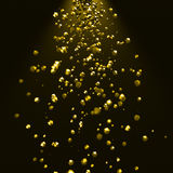 Abstract 3D Rendering of Chaotic Particles Royalty Free Stock Images