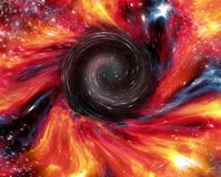 Exotic deep space formation abstract stock photography