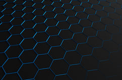 Abstract 3d rendering of futuristic surface with Royalty Free Stock Image