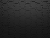Abstract 3d rendering of futuristic surface with hexagons. Stock Photo