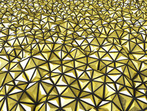 Abstract 3d rendering of gold surface Background with futuristic Stock Images
