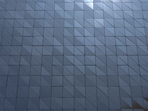 Abstract 3d rendering of metallic wall Royalty Free Stock Images