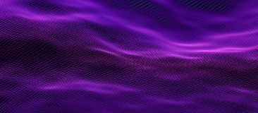 Abstract 3D Rendering of Modern Background. Abstract 3d rendering of technological surface. Modern background design royalty free illustration
