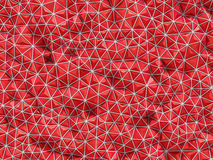 Abstract 3d rendering of red surface Background with futuristic Royalty Free Stock Image