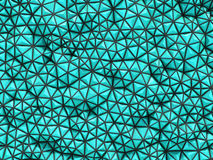 Abstract 3d rendering of turquoise surface Background with futur Stock Images