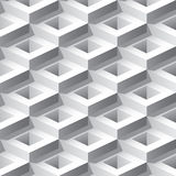 Abstract 3D Seamless Pattern Royalty Free Stock Photography