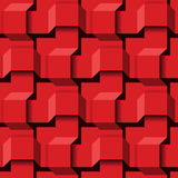 Abstract 3D Seamless Pattern Stock Photography