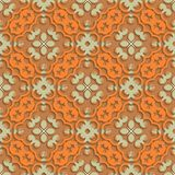 Abstract 3d Seamless Pattern Design Royalty Free Stock Photos