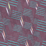 Abstract 3d seamless Royalty Free Stock Photography