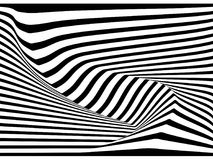 Abstract 3D stripe line  background, vector Stock Photo