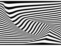 Abstract 3D stripe line background, vector. Design stock illustration