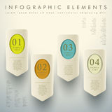 Abstract 3d tag infographics Stock Photos