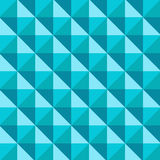 Abstract 3D Tapered Cube Pattern, vector Royalty Free Stock Photo