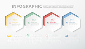 Abstract 3D timeline template. for business concept. Abstract 3D timeline template. Vector illustration can be used for workflow layout, diagram, number options Stock Image