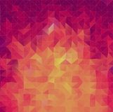 Abstract 2D triangle background. Abstract 2D geometric colorful background for your design Royalty Free Illustration