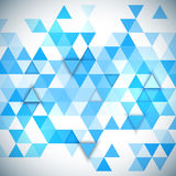 Abstract 3D triangles geometric background. Illustration of abstract texture with triangles Stock Illustration