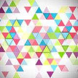 Abstract 3D triangles geometric background. Illustration of abstract texture with triangles Royalty Free Illustration
