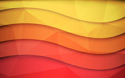 Abstract 3d vector background. Clip-art Royalty Free Stock Photo