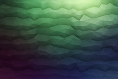 Abstract 3D Vector Geometrical Background. Abstract 3d vector geometrical polygonal structure dark background for design, business, print, web, ui and other Royalty Free Stock Photos