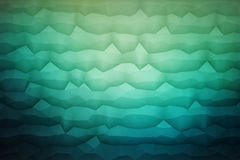 Abstract 3D Vector Geometrical Background. Abstract 3d vector geometrical polygonal waveform structure bright background for design, business, print, web, ui and Royalty Free Stock Photography