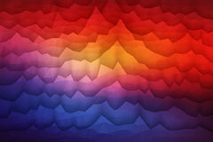 Abstract 3D Vector Geometrical Background. Abstract 3d vector geometrical polygonal waveform structure bright background for design, business, print, web, ui and Stock Photos