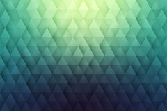 Abstract 3D Vector Geometrical Triangular Background. Abstract 3d vector geometrical triangular textured bright background for design, business, print, web, ui Stock Photo