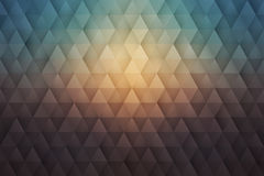 Abstract 3D Vector Geometrical Triangular Background. Abstract 3d vector geometrical triangular textured bright background for design, business, print, web, ui Stock Image