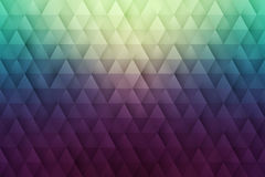 Abstract 3D Vector Geometrical Triangular Background Stock Photography