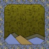 Abstract 3D vectorontwerp Royalty-vrije Stock Foto's