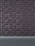 Abstract 3D wall decor. 3d wall pano for interior Stock Image