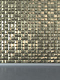 Abstract 3D wall decor Stock Photography