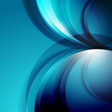 Abstract 3d waves modern business background Royalty Free Stock Images